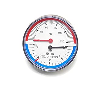 Afriso Thermo Pressure Meter TM8063341Axial