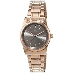 TOM TAILOR Watches Damen-Armbanduhr Analog Quarz Edelstahl beschichtet 5414303
