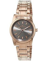 TOM Tailor de relojes mujer-reloj analógico de cuarzo chapado en acero inoxidable 5414303