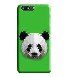 HiFi Designer Phone Back Case Cover Apple iPhone 7 Plus :: Apple iPhone 7+ ( Panda Cute Look Face Oild Paint Look Finish )