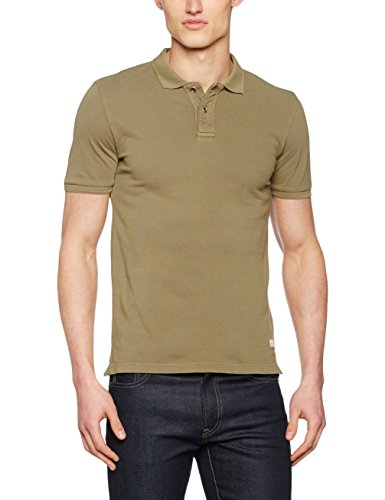 JACK & JONES VINTAGE Herren Poloshirt Jjvwilliam Ss Polo Noos Grün (Capers Fit:Slim Fit)