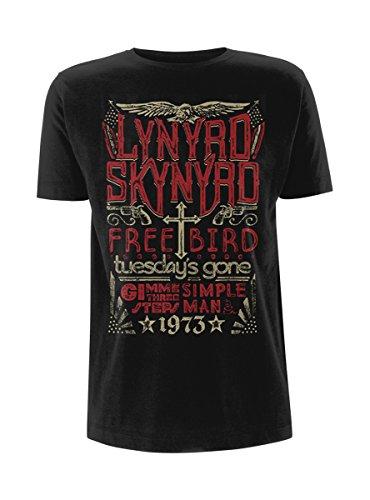 Lynyrd Skynyrd 1973 Hits T-Shirt nero S