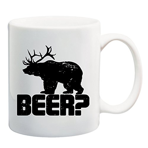 Beer? Funny Bear - Mug T-Shirt