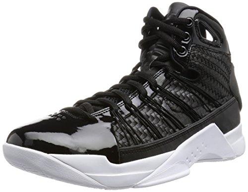 Nike Nike Hyperdunk Lux, espadrilles de basket-ball homme Noir (Black (noir / or-voile noire métallique))