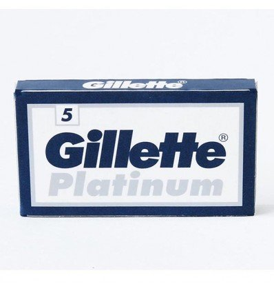 GILLETTE PLATINUM CUCHILLAS RECAMBIO PACK 5UD. -