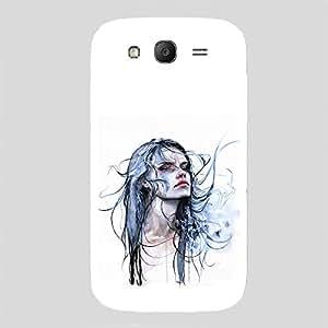 Back cover for Samsung Galaxy Grand Digital Girl