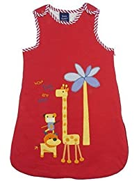 6286adb0eede Bebe Bobito Sleeping Bags 2.5 Tog Soft Cotton Jersey (Red How Tall are You  Animal