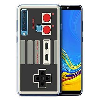 eSwish Gel TPU Hülle/Case für Samsung Galaxy A9 2018 / Klassisches Nintendo Muster/Spielkonsolen Kollektion