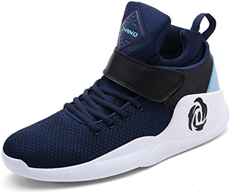 GLSHI Uomini scarpe da ginnastica di Pallacanestro Alta Rise Scarpe da Passeggio Autunno Nuovo Ammortizzatore di Ammortizzatori...   attività di esportazione in linea    Sig/Sig Ra Scarpa