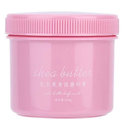 Shea Butter Peeling Salz Dead Skin Cutin, Ultra feuchtigkeitsspendendes und Peeling Peeling für pflegende Whitening Body Care Cream 250g -