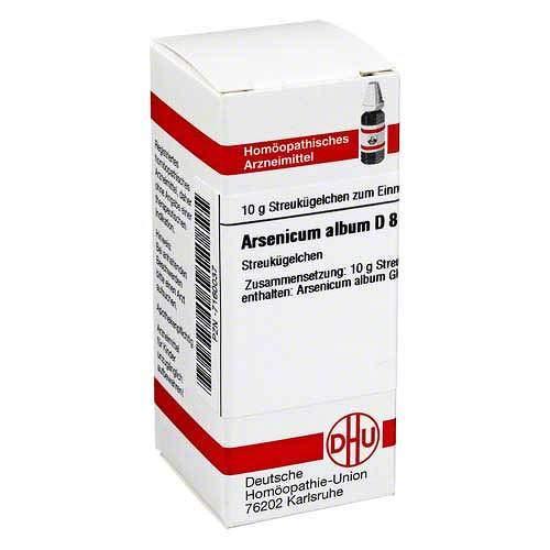 Arsenicum Album D 8 Globu 10 g -