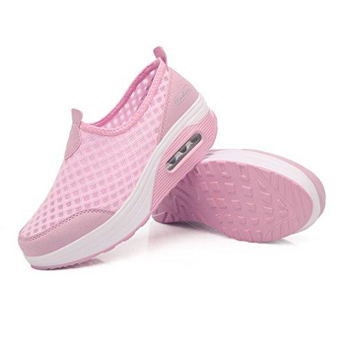 XMeden, Scarpe da camminata donna Pink