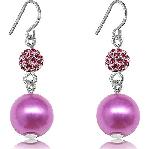 fashion-orecchini-pendenti-con-perla-finta-fireball-soft-cream-8-mm-e-rame-colore-viola-cod-fireball