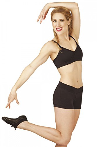 Capezio Ballett Fitness Short Hot Pants BX600 für - Shorts Capezio Frauen