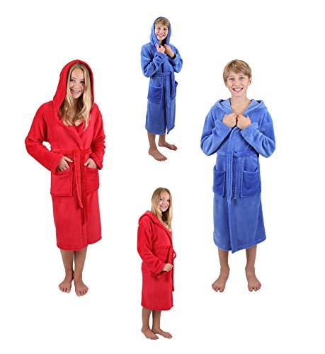 Betz Kinderbademantel Bademäntel Jungen Mädchen mit Kapuze - 5