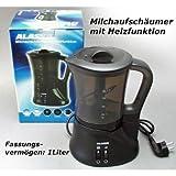 Milchaufschäumer mit Heizfunktion 1L 550W Milchschäumer …