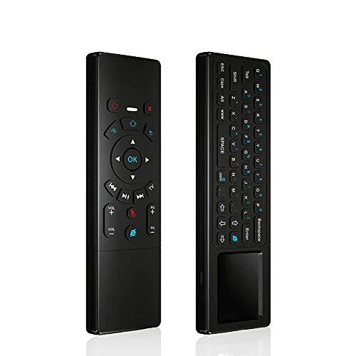KingLeChange T6 Air Mouse 2.4GHz Mini teclado inalámbrico con control remoto táctil para Android TV Box, Kodi TV Box, Google TV Stick, Smart TV y más