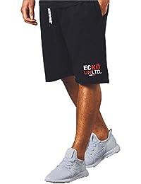 Ecko Uomo Pantaloncini Sweat Gym Moda Jogging Parte Inferiore Vello Corto  Marcia più Alta ... 4ac5a7e0f3d