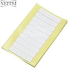 Neitsi® 60 piezas incluye tres velas de 4,0,9 cm Diseño de doble cara y dos cinta adhesiva de doble cara para poder trama de la piel y de la juego de rollos de cinta pelo la extensión de a prueba de agua