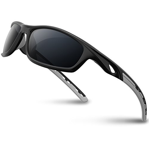 89bea389a14 RIVBOS Polarized Sports Sunglasses Driving Sun Glasses shades for Men Women Tr  90 Unbreakable Frame for