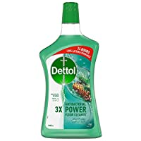 Dettol Pine Antibacterial Power Floor Cleaner 900ml