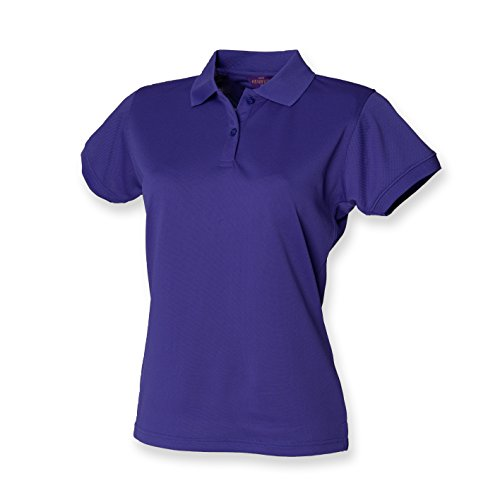 Henbury - Polo -  - Polo - Col polo - Manches courtes Femme Violet - Violet