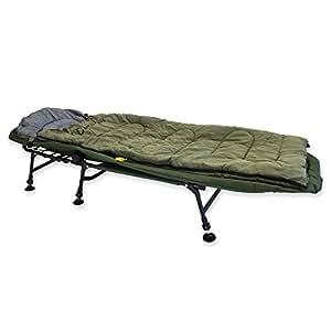Angel DomäneNightwalker Pro Comfort Bedchair Karpfenliege+Schlafsack Bun