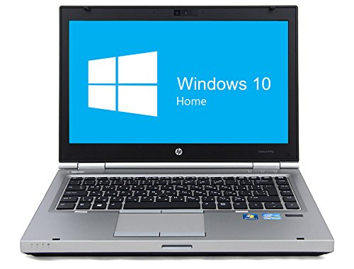 HP Elitebook 8470p Notebook | 14 Zoll Display | Intel Core i5-3320M @ 2,6 GHz | 8GB DDR3 RAM | 320GB HDD | DVD-Laufwerk | Windows 10 Home vorinstalliert (Generalüberholt) (Hp Elitebook 8470p Notebook-pc)