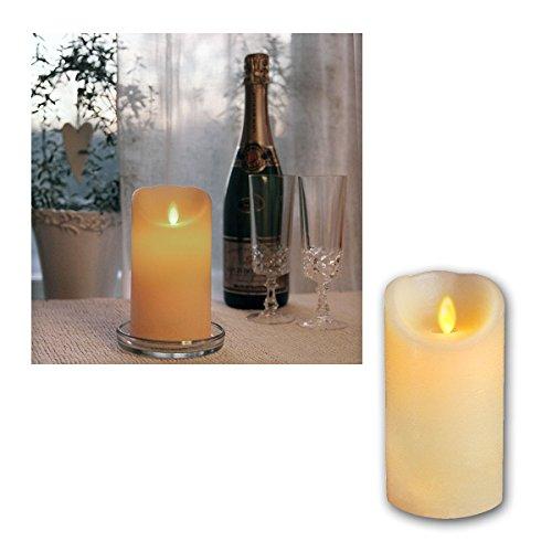 star-candela-di-cera-led-twinkle-fiamma-con-fiammella-timer-a-batteria-scatola-trasparente-15-x-8-cm