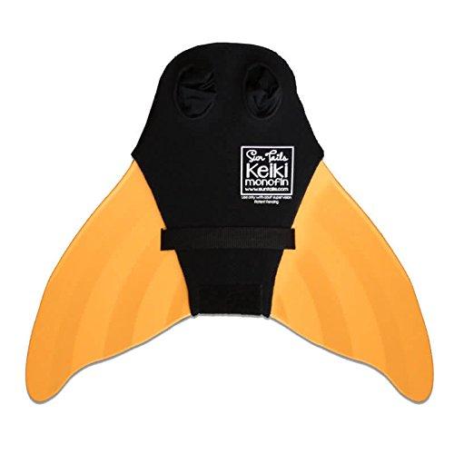 SUN TAILS Premium Keiki Meerjungfrauen Monoflossen Schwimmen Kinder orange