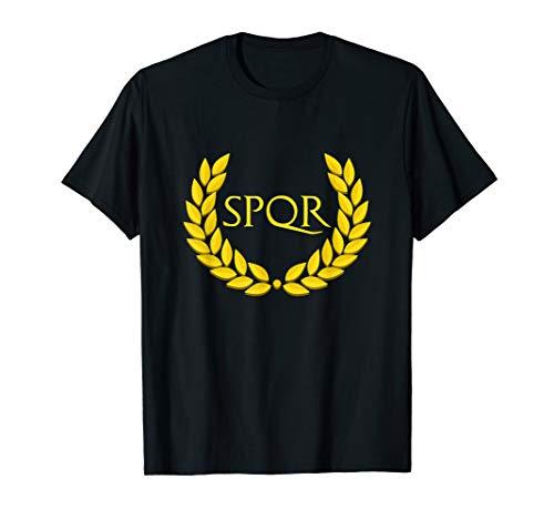 SPQR Purple Römisches Reich T-Shirt