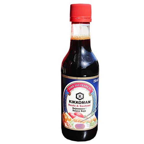 Kikkoman - Sushi und Sashimi Sauce - 5er Pack (5 x 250ml) - Sushi Sauce