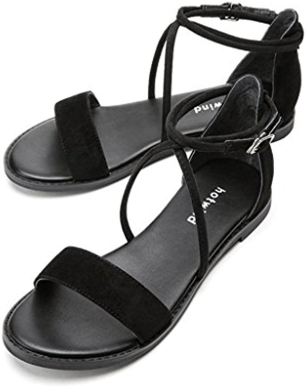 HBDLH Zapatos de Mujer/Tabla Gruesa Impermeable Rojo De Sandalias Zapatos De Boda Qipao Show 10 Cm De Tacon Alto.De... -
