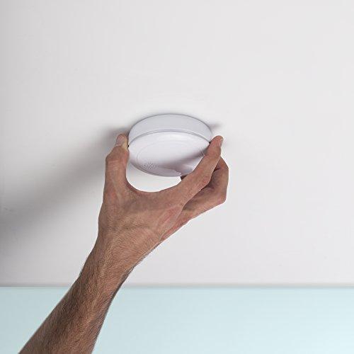 Smartwares 10-Jahres-VDS-Rauchmelder mit Lithium Batterie, weiß, RM218 - 11