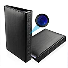 7d8d9d7da545 Ydq Cámara Oculta Cámara Espía Libro Mini Cámara HD 1080P Cámara Secreta  Niñera Visión Nocturna Registro