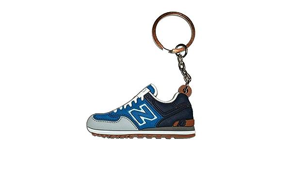 Porte-clés New Balance bleu: Amazon.fr: Vêtements et accessoires