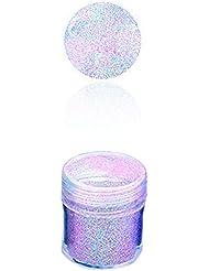 Da.Wa Paillettes Coloré Ongles Mixte Holographiques Paillettes Conseils Feuilles Poudre Décoration Nail Art(Couleur aléatoire)