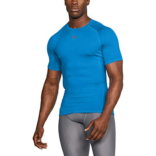 Under Armour - UA HG Armour SS, Maglietta Uomo