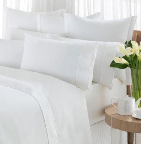 100% Luxus Ägyptische Baumwolle 800, 1000 Fadenzahl 5 Hotel Qualität Betten Bett Satz Bettdecke + Kissen Paar - Sehr großes Doppelbett 1000tc -