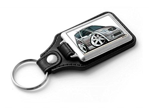 wickedartz-cartoon-car-citroen-c2-silver-classic-style-key-ring
