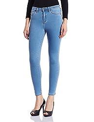 Superdry Womens Skinny Jeans (G70000YNF1_70S Blue_28)