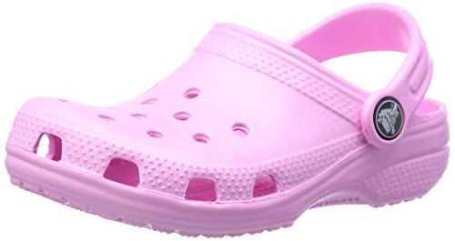 crocs Unisex-Kinder Classic Kids Clogs, Pink (Carnation), 34/35 EU