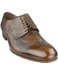 GEOX Herren Business Schuhe U RICHARD M Coffee - im Vintage Style - U24U2M 000RS C6009 (H-37)