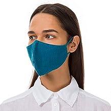 Plümo reusable face mask/face covering - washable organic linen mask (Adult)
