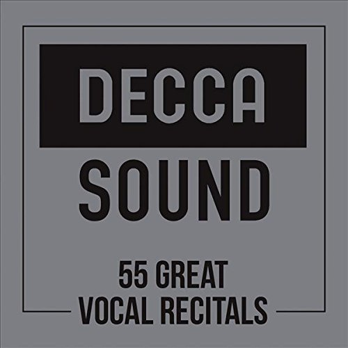 Decca Sound - 55 Great Vocal Recitals (Limited Edition) 55 Audio