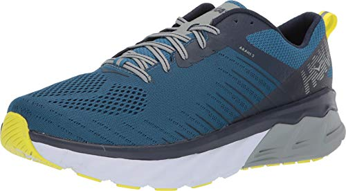 HOKA ONE One Arahi 3 Men's Trainers Blue / Green - 46 - Running / Trail
