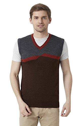 Peter England Brown Sweater