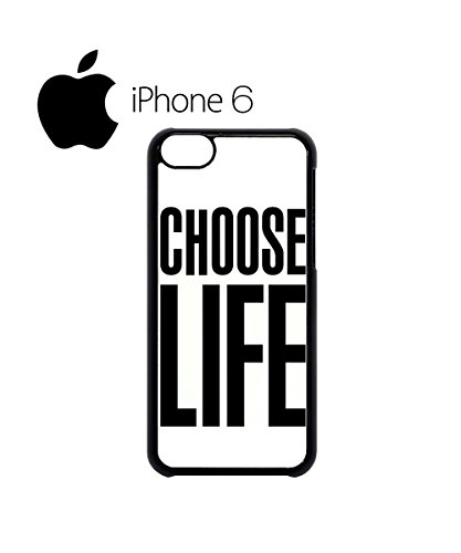 Choose Life Geek Nerd Swag Mobile Phone Case Back Cover for iPhone 6 Black Noir