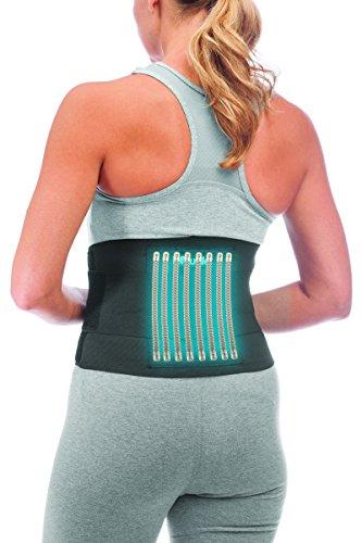 Mueller Rücken-Aktivbandage zur Unterstützung des Lendenwirbelbereiches, Einheitsgrösse, schwarz - 5