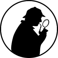 Detective Policeman Private Eye Private Detective Private Investigator PI Novelty Humorous Fun Funny Cute Joke 25mm (1 inch) Button Pin Badge